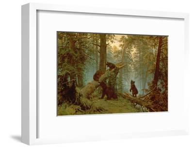 Morning in a Pine Forest, 1889-Ivan Ivanovitch Shishkin-Framed Giclee Print