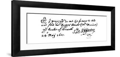 Knyveton--Framed Giclee Print