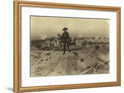 Siege of Mafeking, 1900-Henri-Louis Dupray-Framed Giclee Print
