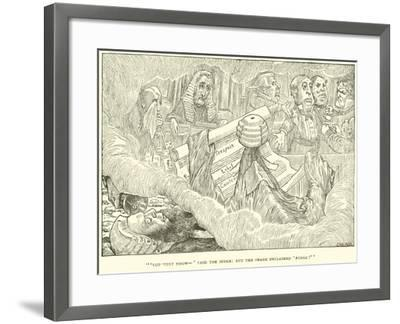The Hunting of the Snark-Henry Holiday-Framed Giclee Print