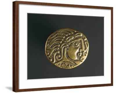 Gold Celtic Stater of Parisii or Quarisii--Framed Giclee Print