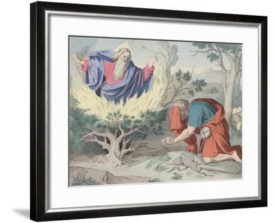 The Burning Bush--Framed Giclee Print