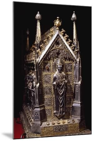 Detail from Wooden Case with Reliquary of St Grato-Giovanni De Malines-Mounted Giclee Print