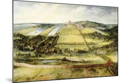 Chateau of Mariemont-Jan Brueghel the Elder-Mounted Giclee Print