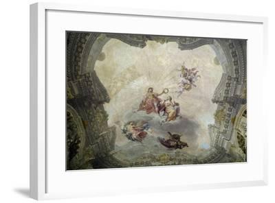 Apollo Crowning Painting, 1761-Vittorio Maria Bigari-Framed Giclee Print