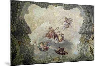 Apollo Crowning Painting, 1761-Vittorio Maria Bigari-Mounted Giclee Print