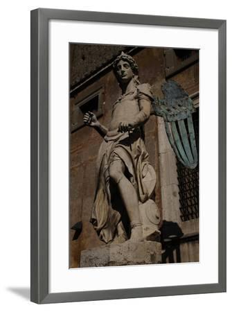 Archangel Michael, 1544-Raffaello da Montelupo-Framed Giclee Print