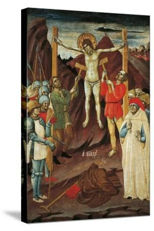 Martyrdom of St Biagio-Giovanni Antonio da Pesaro-Stretched Canvas Print