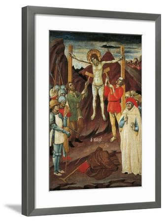 Martyrdom of St Biagio-Giovanni Antonio da Pesaro-Framed Giclee Print
