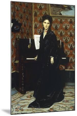 Portrait of Mary Donegani, 1869-Giovanni Boldini-Mounted Giclee Print