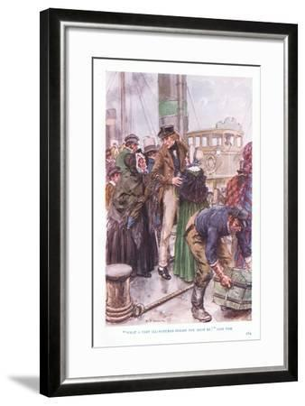 """""""What a Very Ill-Natured Person You Must Be"""" Said Tom-Charles Edmund Brock-Framed Giclee Print"""