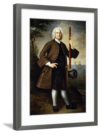 Portrait of Captain John Larrabee, 1760-Joseph Badger-Framed Giclee Print