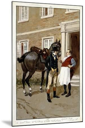 I'Ve Heard There's No Holding of These Methodisses-Gordon Frederick Browne-Mounted Giclee Print