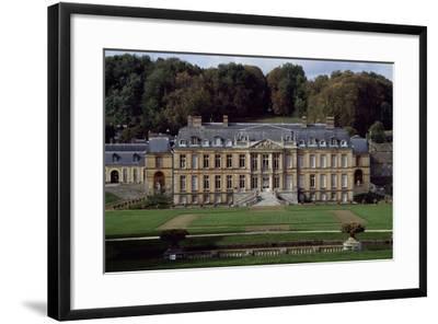 Facade of Dampierre Castle-Jules Hardouin Mansart-Framed Giclee Print