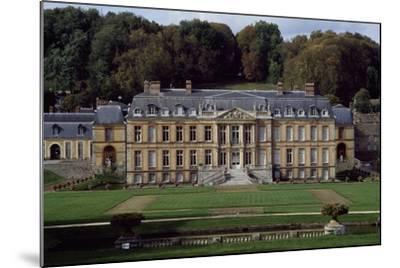 Facade of Dampierre Castle-Jules Hardouin Mansart-Mounted Giclee Print