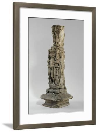 One of 9 Maquettes for the Sam Wilson Chimneypiece, C.1908-14-Alfred Gilbert-Framed Giclee Print