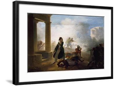 Massacres in Greece, 1855-1860-Giovanni Marghinotti-Framed Giclee Print