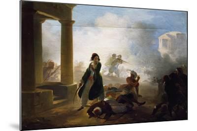 Massacres in Greece, 1855-1860-Giovanni Marghinotti-Mounted Giclee Print