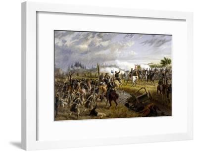 Battle of San Martino, June 24, 1859-Raffaele Pontremoli-Framed Giclee Print