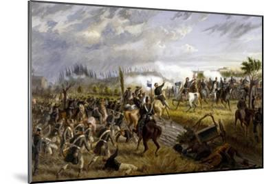 Battle of San Martino, June 24, 1859-Raffaele Pontremoli-Mounted Giclee Print