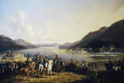 Battle of Salo, July 31, 1796-Hippolyte Lecomte-Framed Giclee Print