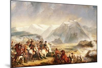 Battle of Rivoli, January 14, 1797-Francois Gabriel Guillaume Lepaulle-Mounted Giclee Print