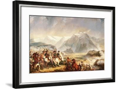 Battle of Rivoli, January 14, 1797-Francois Gabriel Guillaume Lepaulle-Framed Giclee Print
