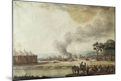 Battle of Piacenza, June 20, 1799-Alexander Sanquirico-Mounted Giclee Print