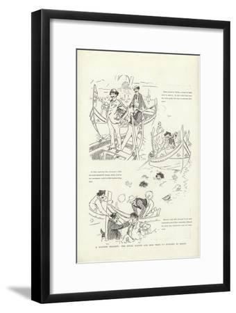 A Maltese Tragedy, the Rival Agents and How They Do Business in Malta-Phil May-Framed Giclee Print