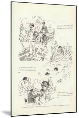 A Maltese Tragedy, the Rival Agents and How They Do Business in Malta-Phil May-Mounted Giclee Print