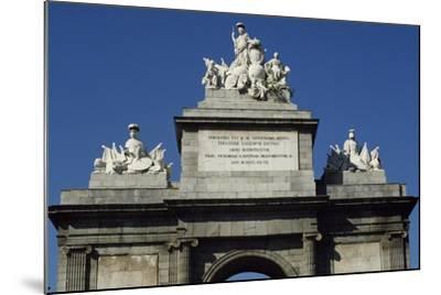 Puerta De Toledo Gate, 1813-1827-Antonio Lopez Aguado-Mounted Giclee Print