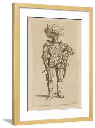 Albert, Count of Wallenstein and General of the Holy Empire, 1629-34-Raphael Jacquemin-Framed Giclee Print