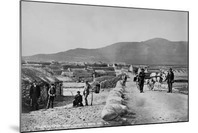 Village of Duagh, Achill Island, County Mayo, Ireland, C.1890-Robert French-Mounted Giclee Print