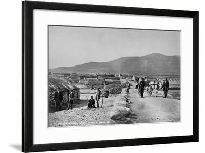 Village of Duagh, Achill Island, County Mayo, Ireland, C.1890-Robert French-Framed Giclee Print