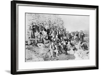 Inhabitants of Achill Island, County Mayo, Ireland, 1890-Robert French-Framed Giclee Print