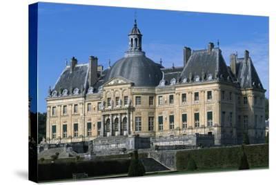 View of Chateau of Vaux-Le-Vicomte, 1656-1661-Louis Le Vau-Stretched Canvas Print