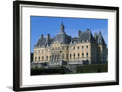 View of Chateau of Vaux-Le-Vicomte, 1656-1661-Louis Le Vau-Framed Giclee Print