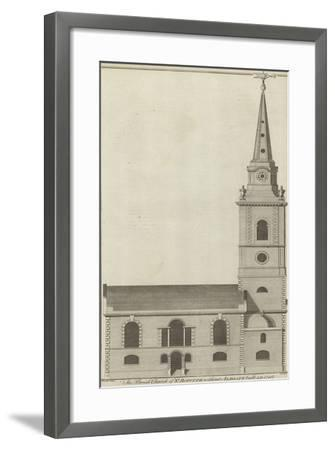 The Parish Church of St Botolph Without Aldgate, London--Framed Giclee Print
