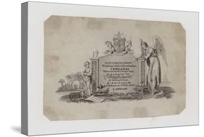 Goldsmiths and Silversmiths, Taylor and Perry, Trade Card--Stretched Canvas Print