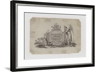 Goldsmiths and Silversmiths, Taylor and Perry, Trade Card--Framed Giclee Print