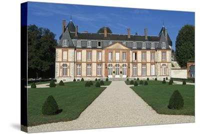 Facade of Chateau De Malesherbes-Pierre Vigne De Vigny-Stretched Canvas Print