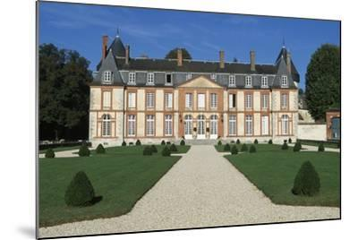 Facade of Chateau De Malesherbes-Pierre Vigne De Vigny-Mounted Giclee Print