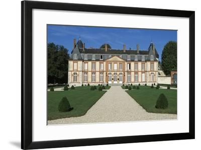 Facade of Chateau De Malesherbes-Pierre Vigne De Vigny-Framed Giclee Print