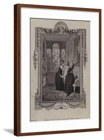 Scene from the History of Sir Charles Grandison--Framed Giclee Print