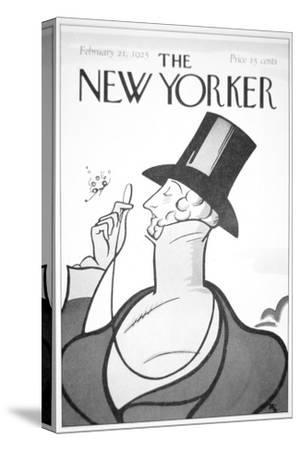 Front of the First Edition of the New Yorker Magazine, 21st February, 1925--Stretched Canvas Print