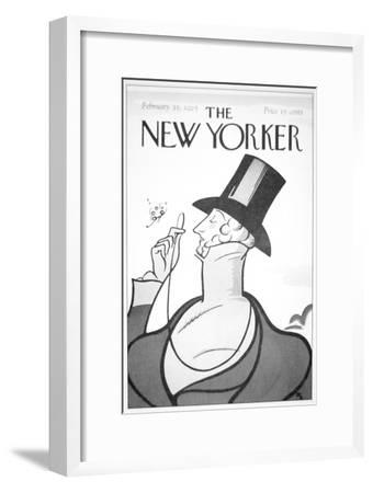 Front of the First Edition of the New Yorker Magazine, 21st February, 1925--Framed Giclee Print