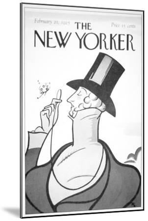 Front of the First Edition of the New Yorker Magazine, 21st February, 1925--Mounted Giclee Print