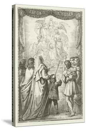 Illustration for the Pilgrim's Progress--Stretched Canvas Print