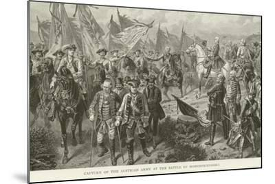 Capture of the Austrian Army at the Battle of Hohenfriedberg--Mounted Giclee Print