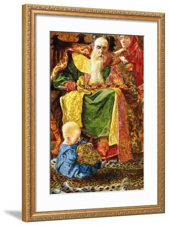 And Who Knoweth Whether He Shall Be Wise Man or a Fool, 1901-John Byam Liston Shaw-Framed Giclee Print